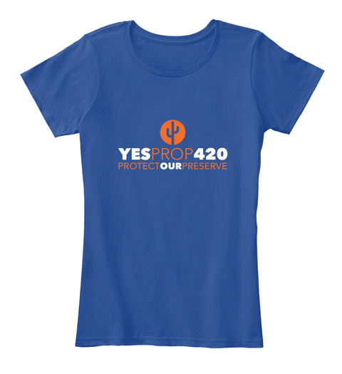 #Ye Sprop420 Women's 2 Deep Royal  Women's T-Shirt Front