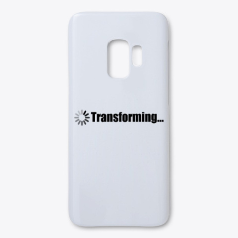 Transforming Standard T-Shirt Front