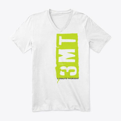 3 Mt   3 Minute Thursday White T-Shirt Front