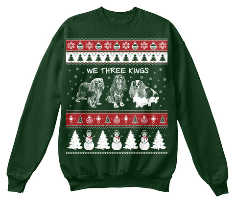 We Three Kings  Deep Forest  T-Shirt Front