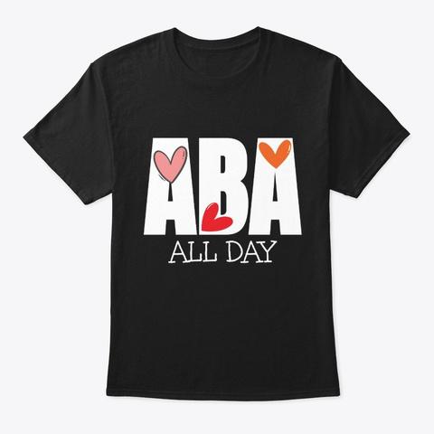 Aba Shirts For Women Black T-Shirt Front