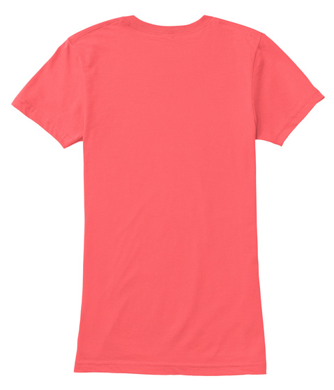 Naughty Look ! Coral T-Shirt Back