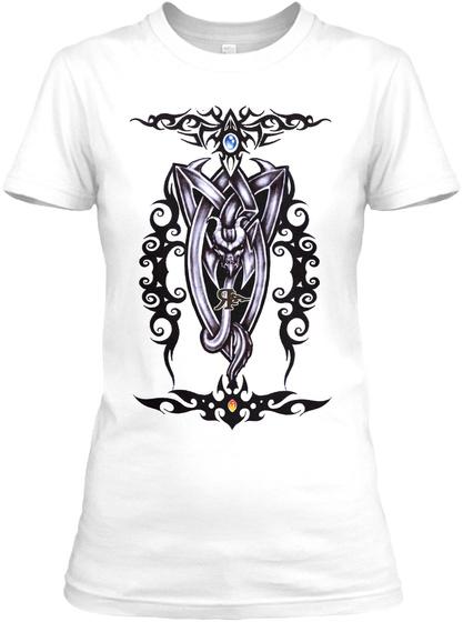 Rogue Women Plush White T-Shirt Front