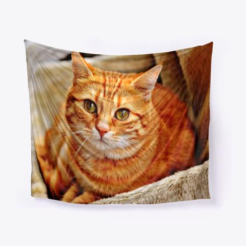 Cat Wall Tapestries | Pillows Standard T-Shirt Front