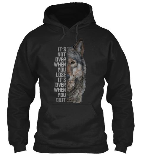 Wolf T Shirt For Men Women Wolf Black T-Shirt Front