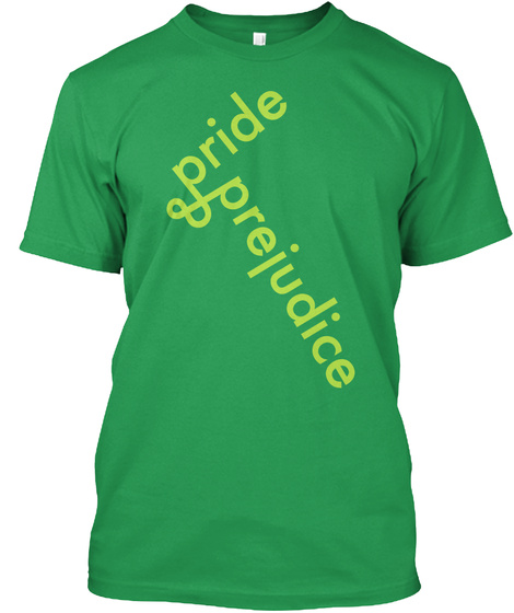 Pride And Prejudice Kelly Green T-Shirt Front