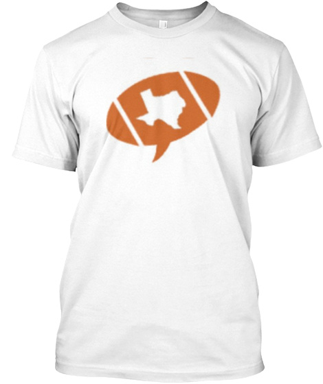 #Txhsfbchat Official White T-Shirt Front
