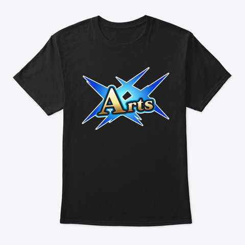 Fgo Arts Card Shirt Black T-Shirt Front