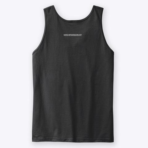 Imperium Logo Vest Black T-Shirt Back