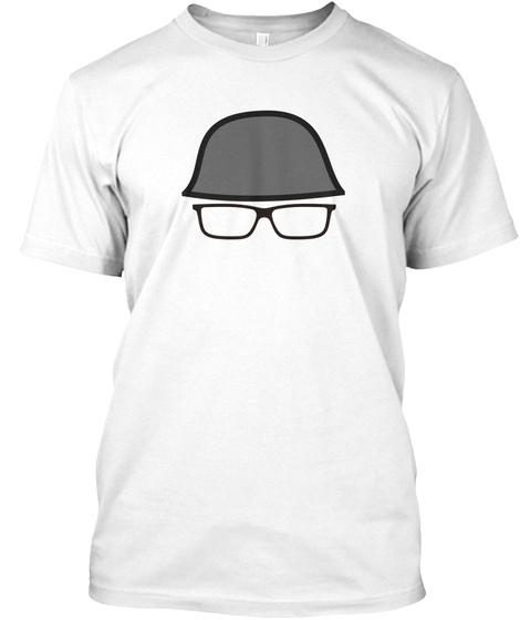 Drunk Veteran Gear White T-Shirt Front