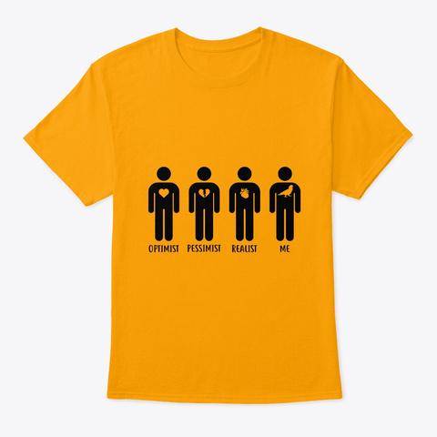 Sun Conure Parrot People Gold T-Shirt Front