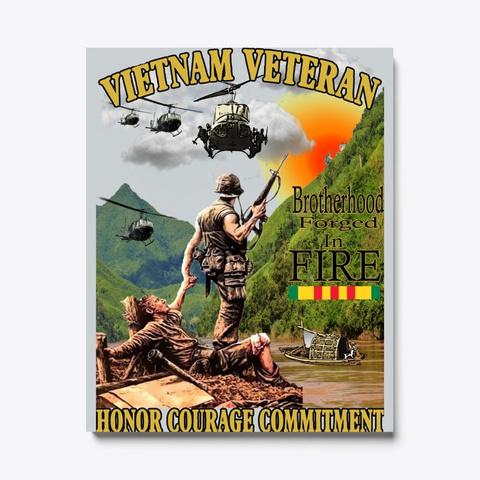 Vietnam Morning Rescue Poster Art Light Grey T-Shirt Front