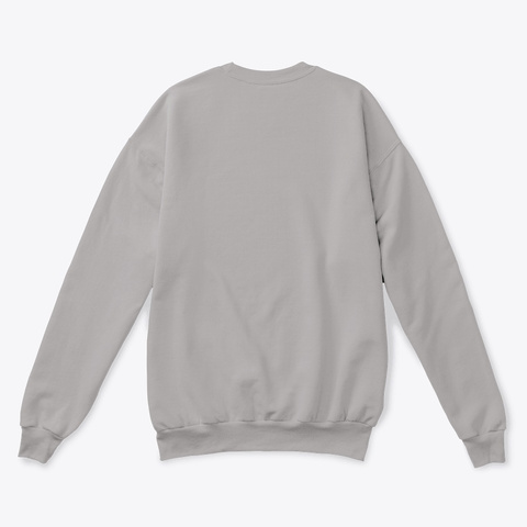 Mip Crewneck Sweatshirt (Light) Light Steel  T-Shirt Back