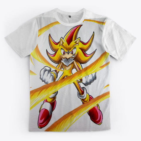 Super Sonic + Super Shadow Fusion Standard T-Shirt Front