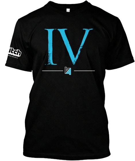 Iv Black T-Shirt Front