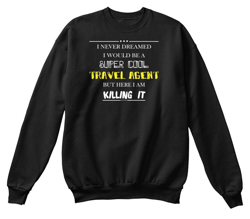 shirt de de Sweat confortable voyage qualité d'agent 47ZwZxnqdO