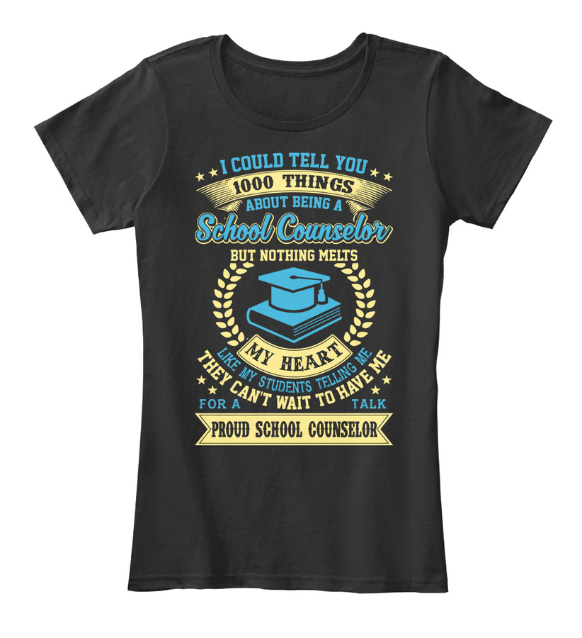 1000 Things About School Counselors Hoodie Tshirt