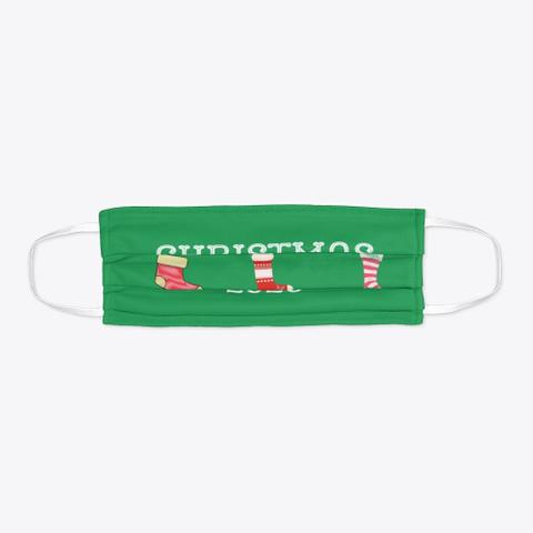 Christmas 2020 Green T-Shirt Flat