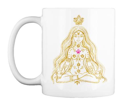 The Universe Has My Back Mug White Mug Front