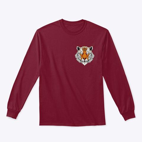 Tiger Cardinal Red T-Shirt Front