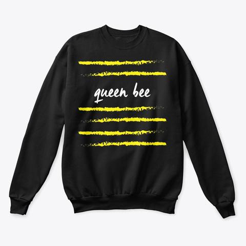 Queen Bee Tee Black T-Shirt Front