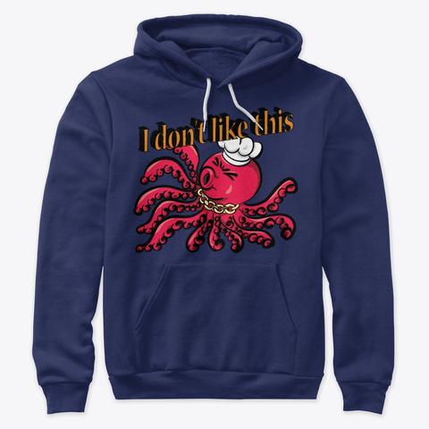 Octopus Navy Sweatshirt Front