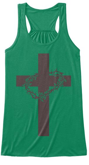 Cross Christian Women's Tank Top Kelly Women's Tank Top Front