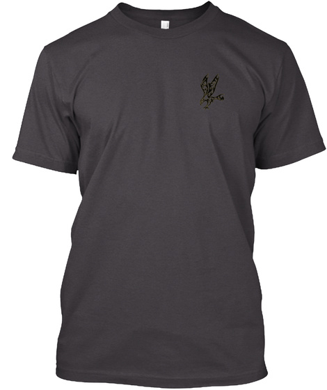 Rock Out! With Your Hawk Out! Heathered Charcoal  T-Shirt Front