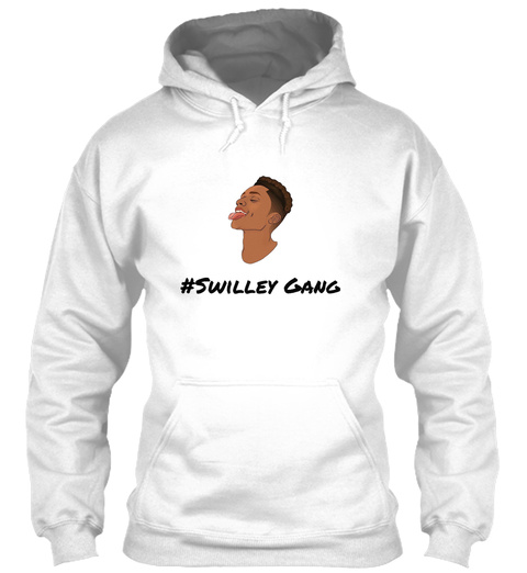 #Swilleygang White T-Shirt Front