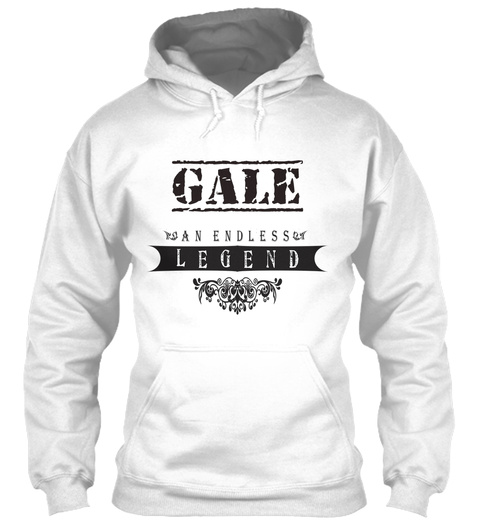 Gale An Endless Legend White T-Shirt Front