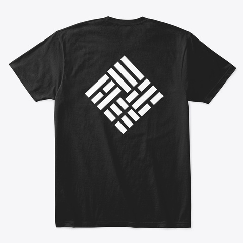 Taekwondo Nouveau 2 Black T-Shirt Back