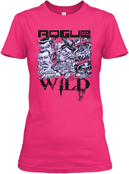 Rogue Wild Heliconia T-Shirt Front