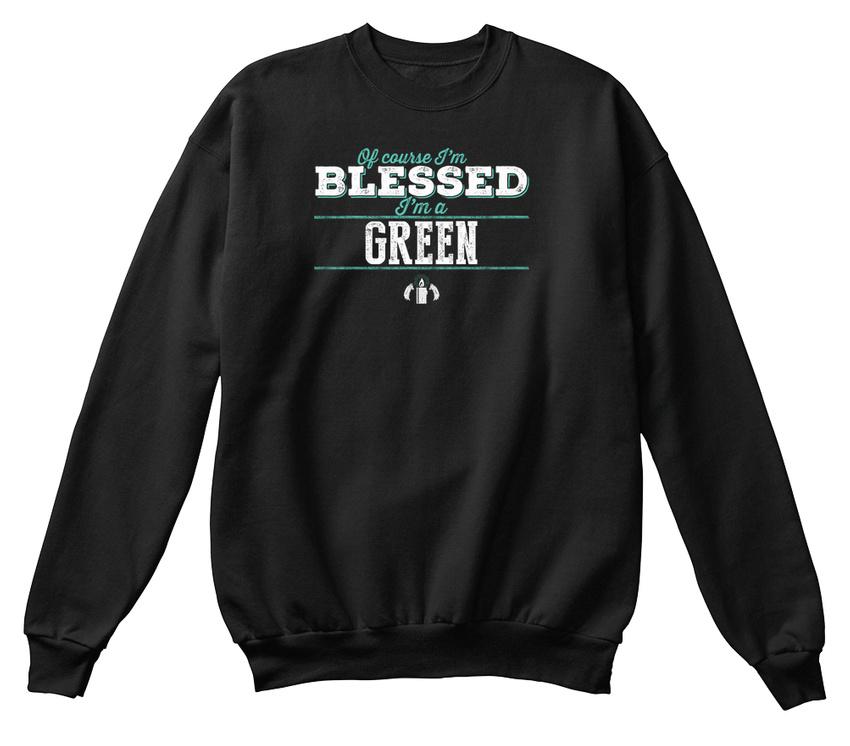 béni Sweat Vert shirt bien confortable sûr de qualité je suis P0OPYx