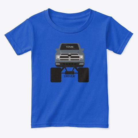 Future Driver Royal  T-Shirt Front