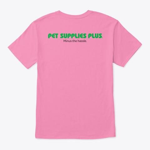 Rosey's Logo Pink T-Shirt Back