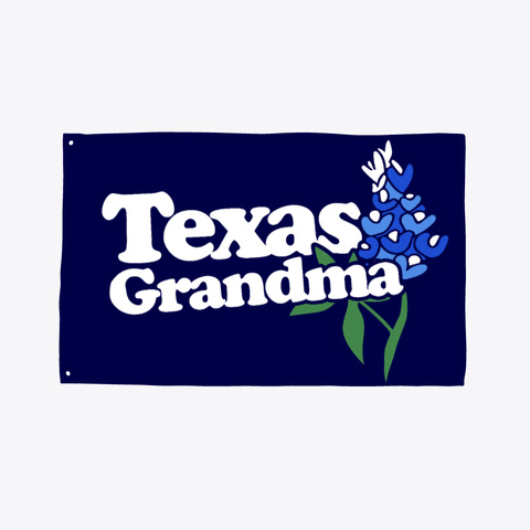 Texas Grandma Dark Navy T-Shirt Front