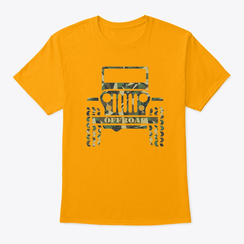 Jeepers Gold T-Shirt Front