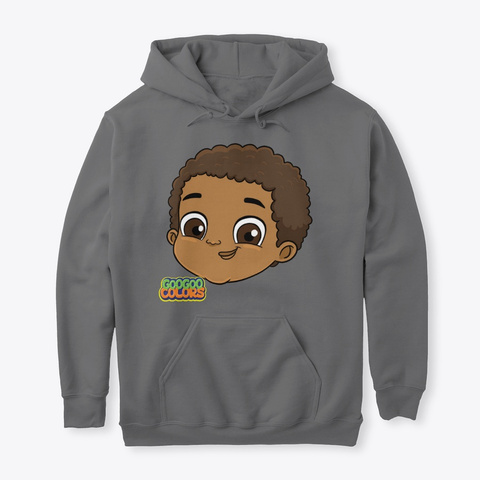 Goo Goo Gaga Hoodie Dark Heather T-Shirt Front