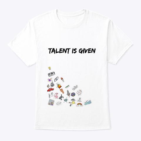 Blekkett Dreamz White T-Shirt Front