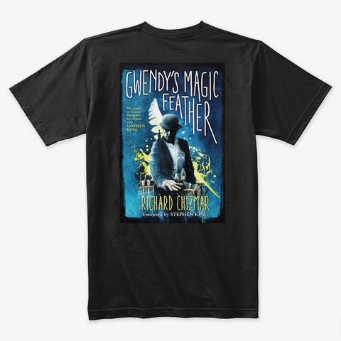 Gmf Exclusive Design Black T-Shirt Back