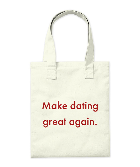 Maple Match Tote Natural T-Shirt Back