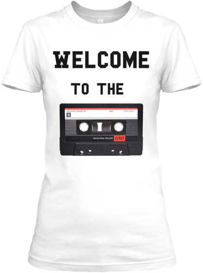 Welcome To The White Women's T-Shirt Front
