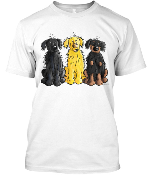 Hovawart Hovi Dog White T-Shirt Front