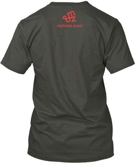 Red Eyed Wolf Smoke Gray T-Shirt Back