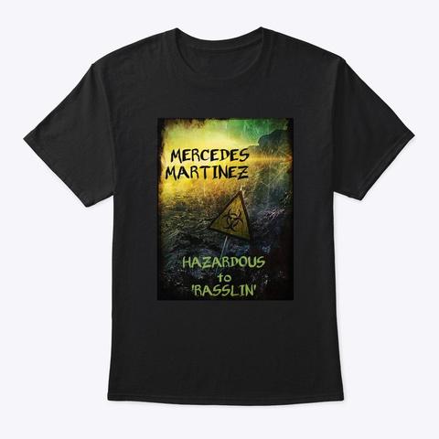 Hazardous Black T-Shirt Front