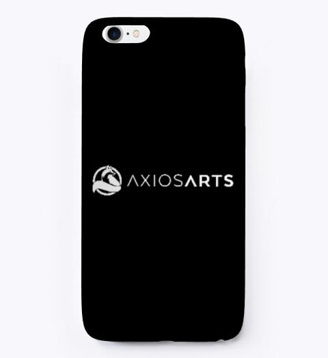 Axios Arts Black T-Shirt Front