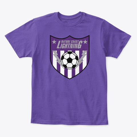 Kids Clothing Purple  T-Shirt Front
