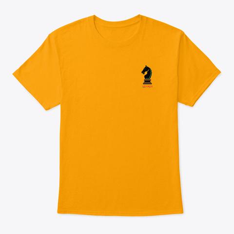 New Paladin Logo T Shirt Gold T-Shirt Front