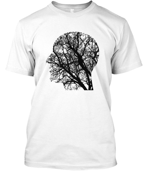 Tree Man White T-Shirt Front