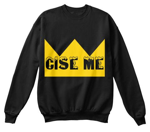 Cise Me Black T-Shirt Front